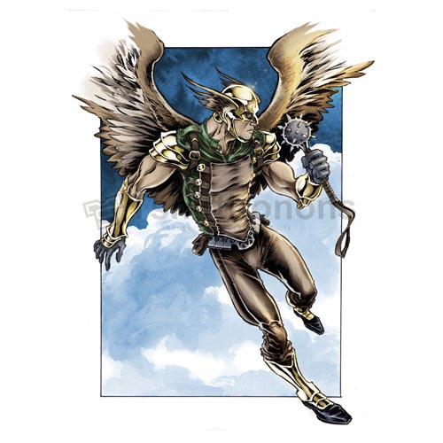 Hawkman T-shirts Iron On Transfers N7649