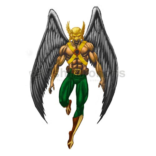 Hawkman T-shirts Iron On Transfers N7650