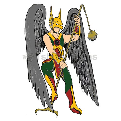 Hawkman T-shirts Iron On Transfers N7651
