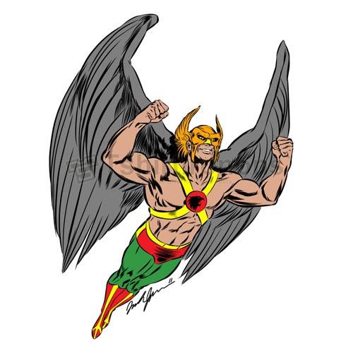 Hawkman T-shirts Iron On Transfers N7657