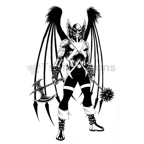 Hawkman T-shirts Iron On Transfers N7660