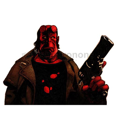 Hellboy BPRD T-shirts Iron On Transfers N4997