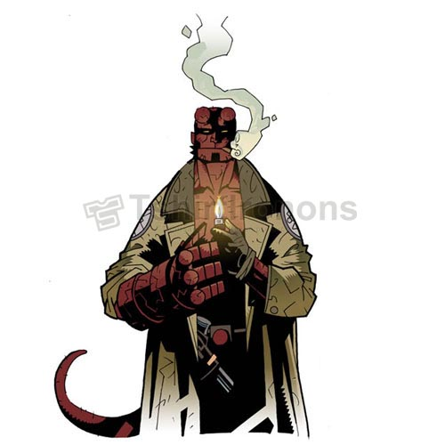 Hellboy BPRD T-shirts Iron On Transfers N4998