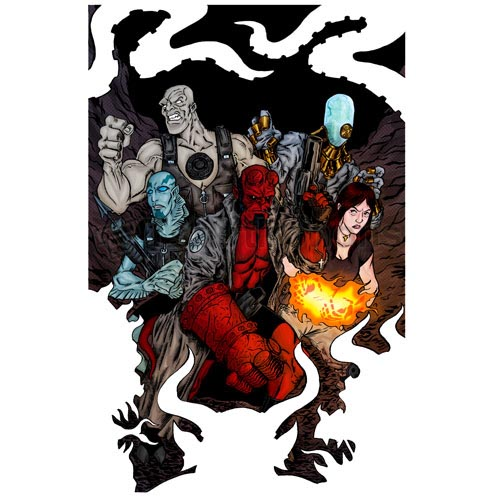 Hellboy BPRD T-shirts Iron On Transfers N5003