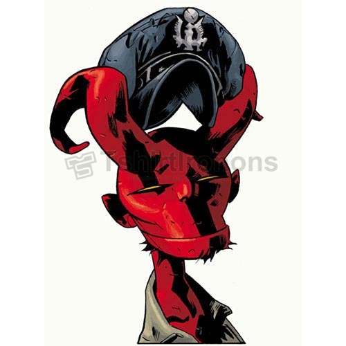 Hellboy BPRD T-shirts Iron On Transfers N5004