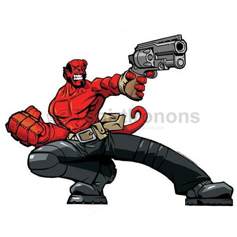 Hellboy BPRD T-shirts Iron On Transfers N5009