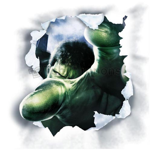 Hulk T-shirts Iron On Transfers N4536