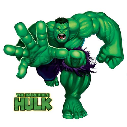 Hulk T-shirts Iron On Transfers N4537