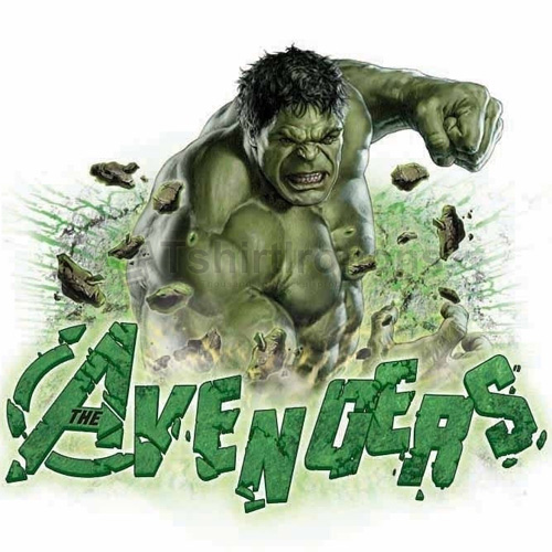 Hulk T-shirts Iron On Transfers N4545