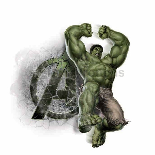 Hulk T-shirts Iron On Transfers N4546