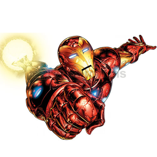 Iron Man T-shirts Iron On Transfers N4578