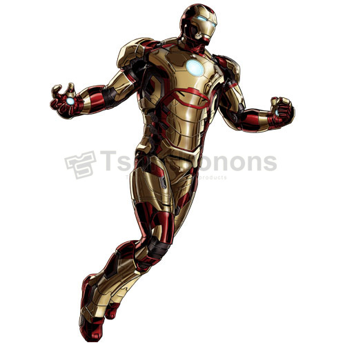 Iron Man T-shirts Iron On Transfers N4582
