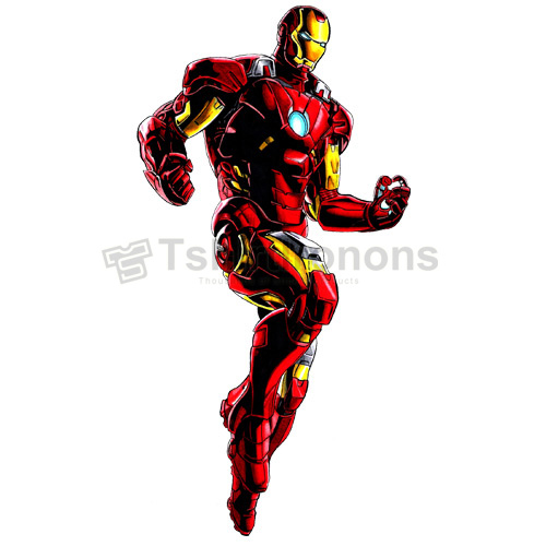 Iron Man T-shirts Iron On Transfers N4583