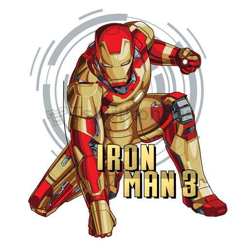 Iron Man T-shirts Iron On Transfers N4584