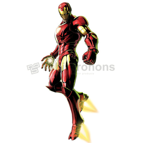 Iron Man T-shirts Iron On Transfers N4586