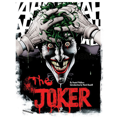 Joker T-shirts Iron On Transfers N5015