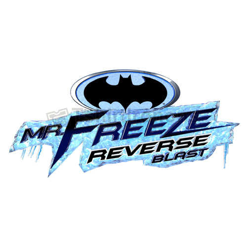 Mr Freeze T-shirts Iron On Transfers N7673