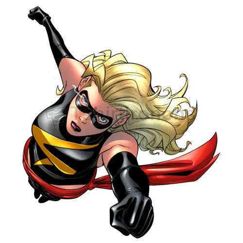 Ms.Marvel T-shirts Iron On Transfers N6502