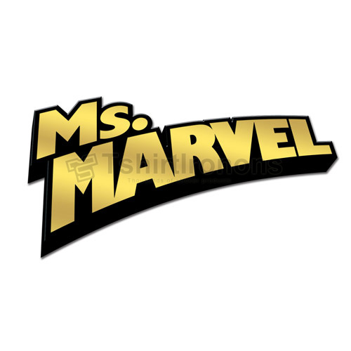 Ms.Marvel T-shirts Iron On Transfers N6503