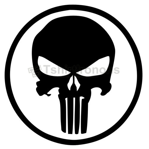 Punisher T-shirts Iron On Transfers N5080