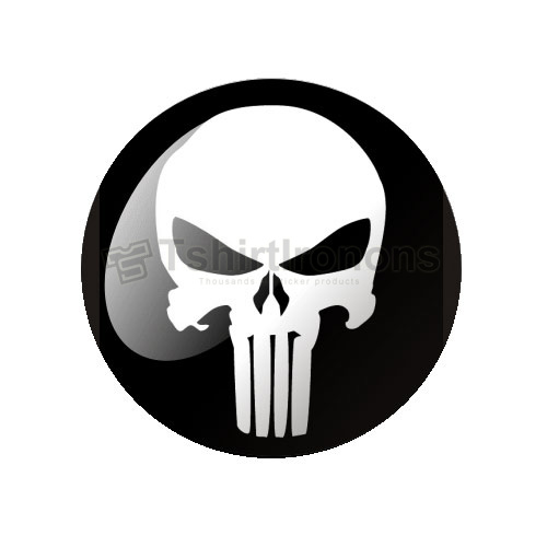 Punisher T-shirts Iron On Transfers N5082