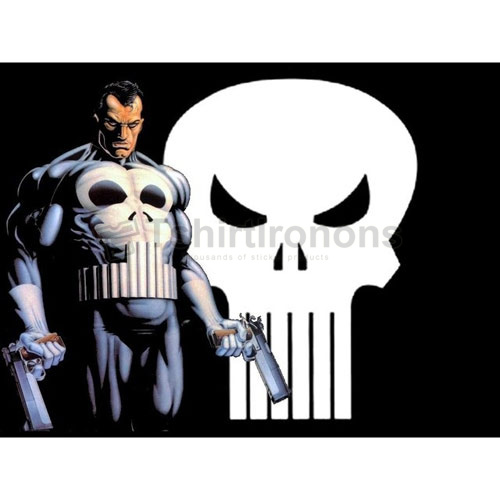 Punisher T-shirts Iron On Transfers N5083