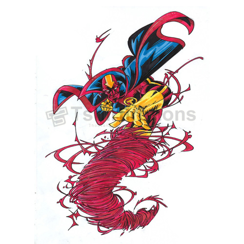 Red Tornado T-shirts Iron On Transfers N7689