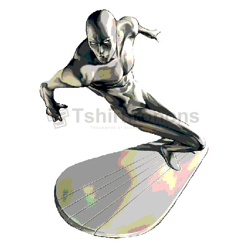 Silver Surfer T-shirts Iron On Transfers N7556