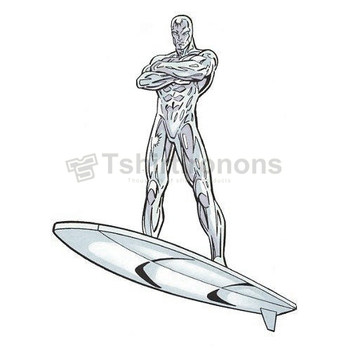 Silver Surfer T-shirts Iron On Transfers N7560
