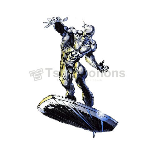 Silver Surfer T-shirts Iron On Transfers N7565