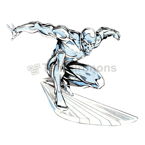 Silver Surfer T-shirts Iron On Transfers N7566