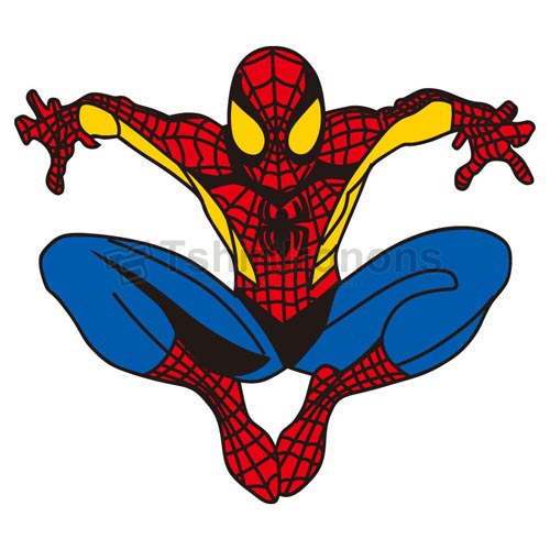 Spiderman T-shirts Iron On Transfers N4596