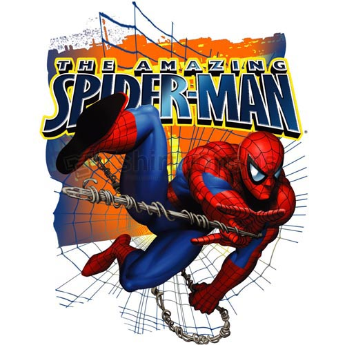 Spiderman T-shirts Iron On Transfers N4603