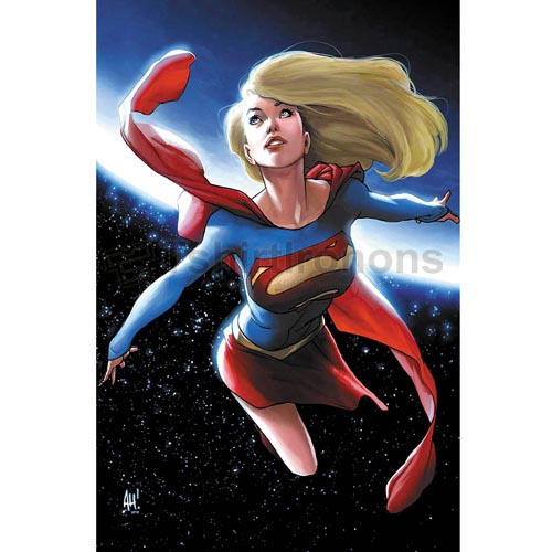 Supergirl T-shirts Iron On Transfers N7724