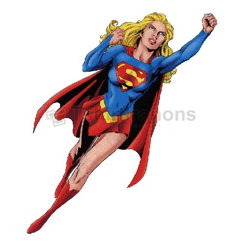 Supergirl T-shirts Iron On Transfers N7725