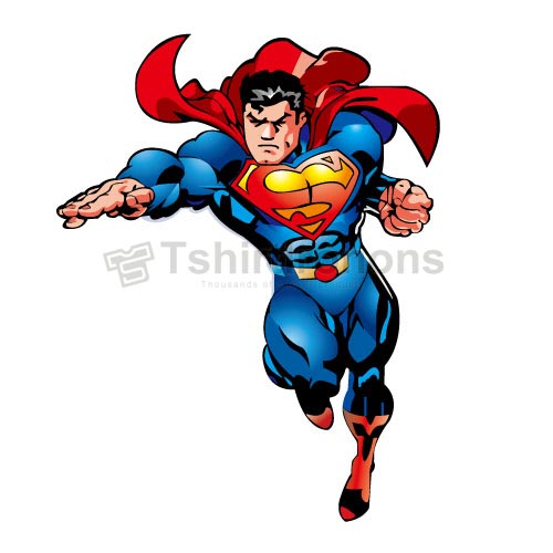 Superman T-shirts Iron On Transfers N4661