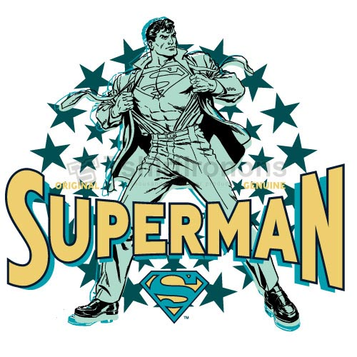Superman T-shirts Iron On Transfers N4671