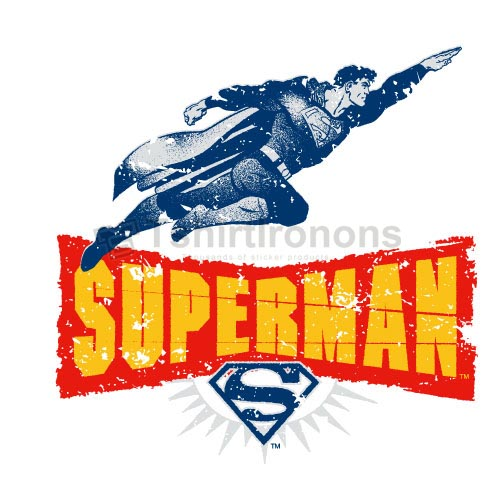 Superman T-shirts Iron On Transfers N4672