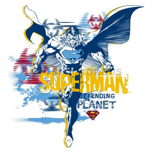 Superman T-shirts Iron On Transfers N4673