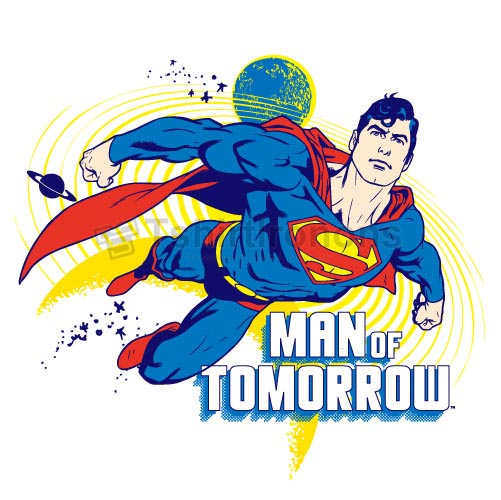 Superman T-shirts Iron On Transfers N4676