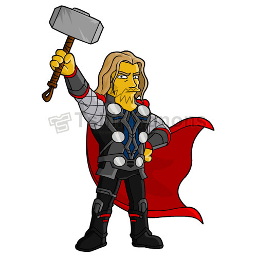 Thor T-shirts Iron On Transfers N4683