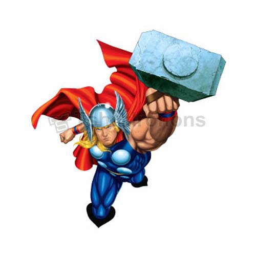 Thor T-shirts Iron On Transfers N4686