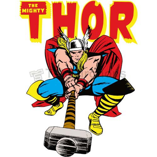 Thor T-shirts Iron On Transfers N4693