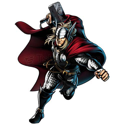 Thor T-shirts Iron On Transfers N4694