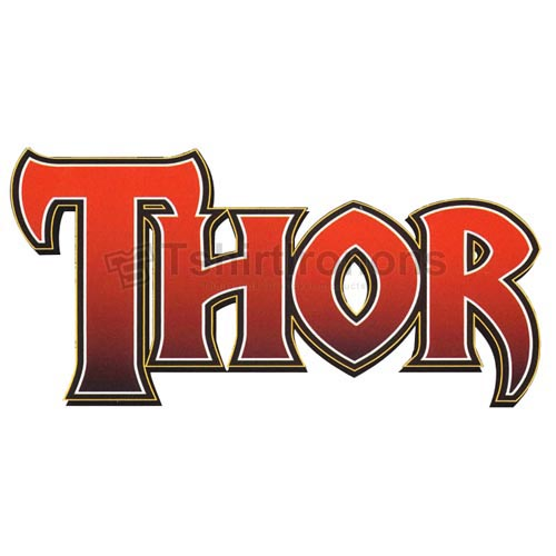 Thor T-shirts Iron On Transfers N4705