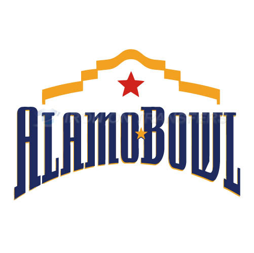 Alamo Bowl Primary Logos 2006 T-shirts Iron On Transfers N3242 - Click Image to Close