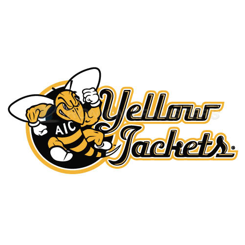 AIC Yellow Jackets 2009-Pres Alternate Logo3 T-shirts Iron On Tr