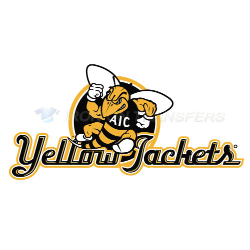AIC Yellow Jackets 2009-Pres Alternate Logo4 T-shirts Iron On Tr