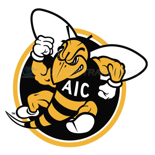 AIC Yellow Jackets 2009-Pres Alternate Logo5 T-shirts Iron On Tr