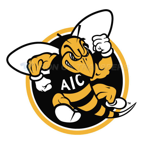 AIC Yellow Jackets 2009-Pres Alternate Logo6 T-shirts Iron On Tr